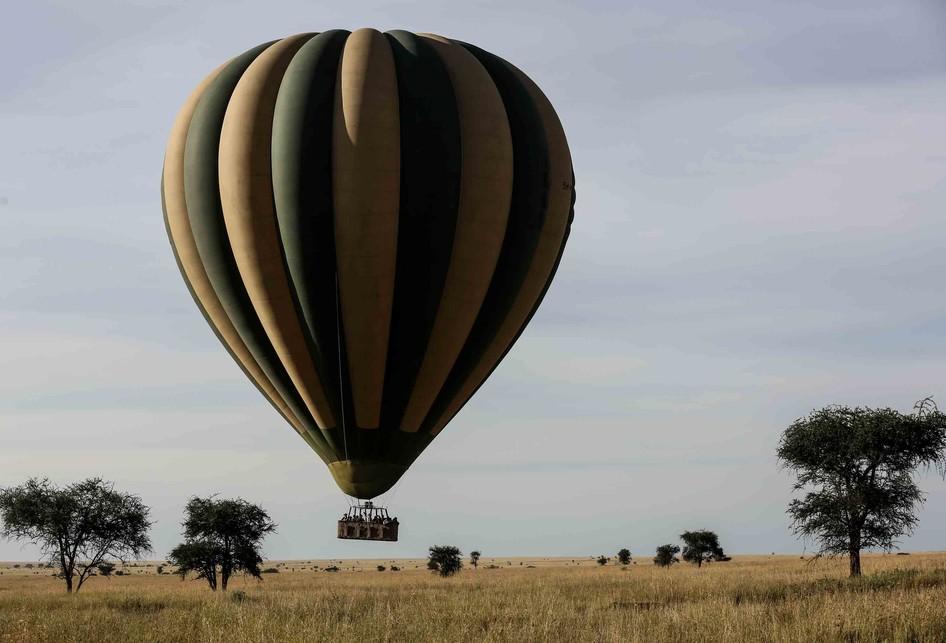 Taman Nasional Serengeti di Tanzania