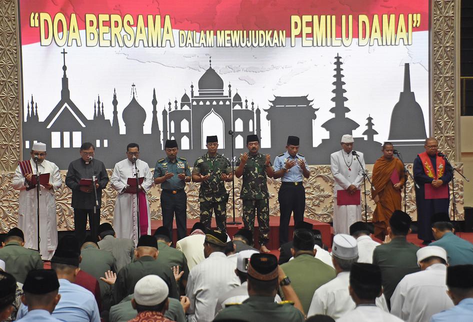 Doa Lintas Agama untuk Pemilu Damai
