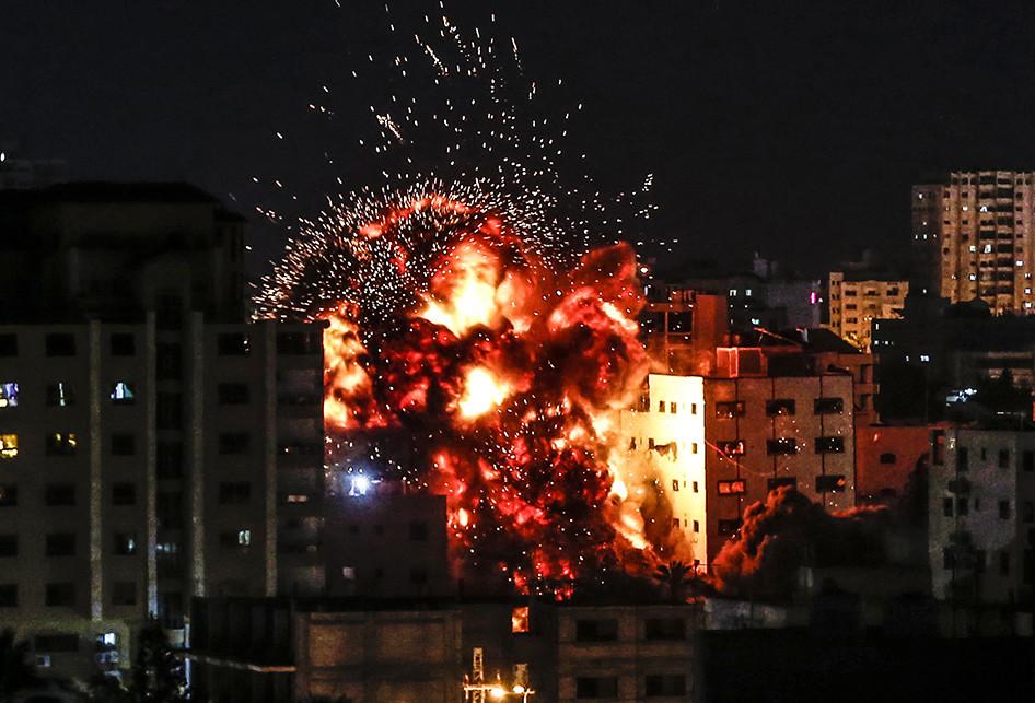 Serangan Udara Israel-Palestina