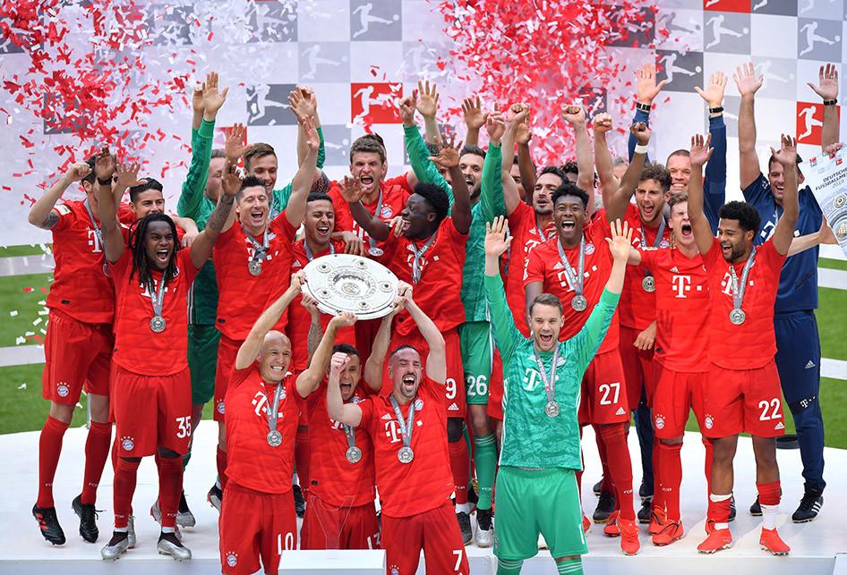 Bayern Muenchen Juara Bundesliga 2018-2019