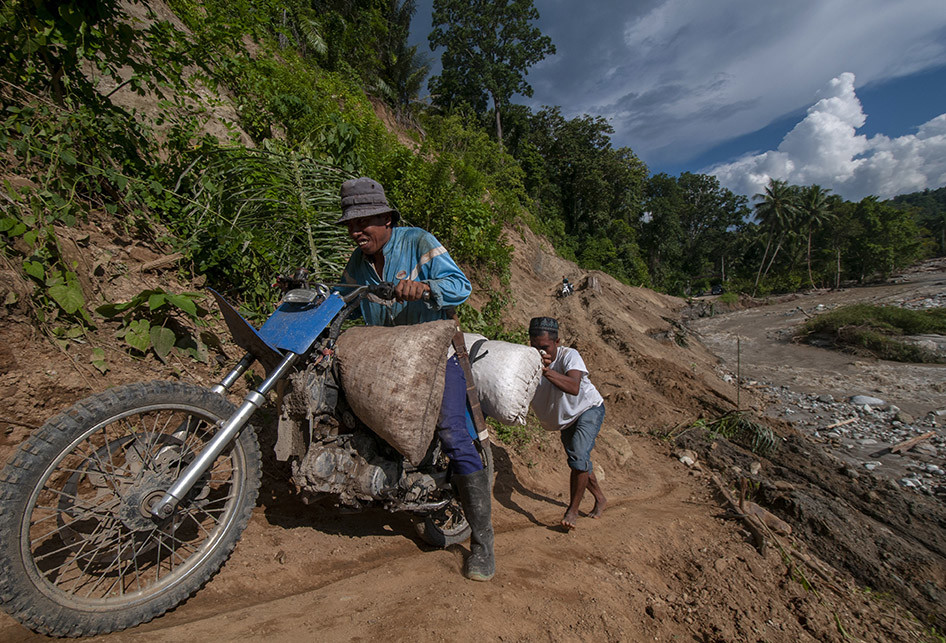 Pasca-banjir di Sigi, Akses Jalan di Sejumlah Wilayah Lumpuh
