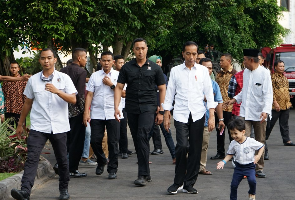 Jan Ethes saat diajak sapa warga Yogyakarta