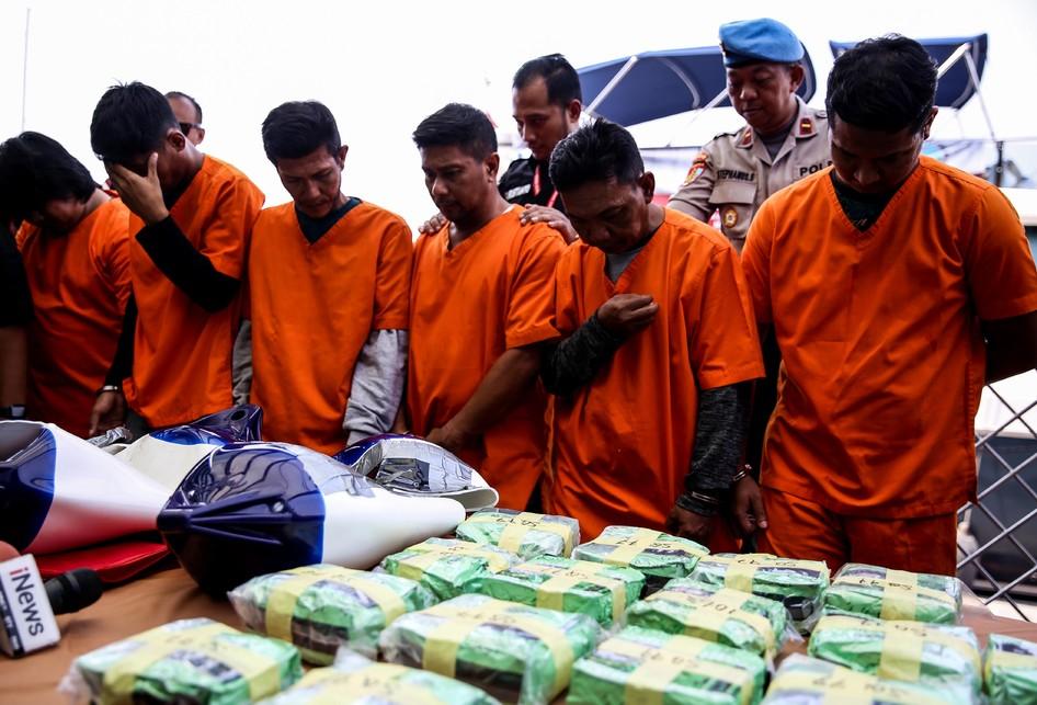 Bareskrim Polri Ungkap Penyelundupan 37 Kg Sabu dari Malaysia