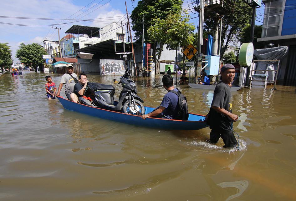 Banjir di Samarinda Belum Berakhir