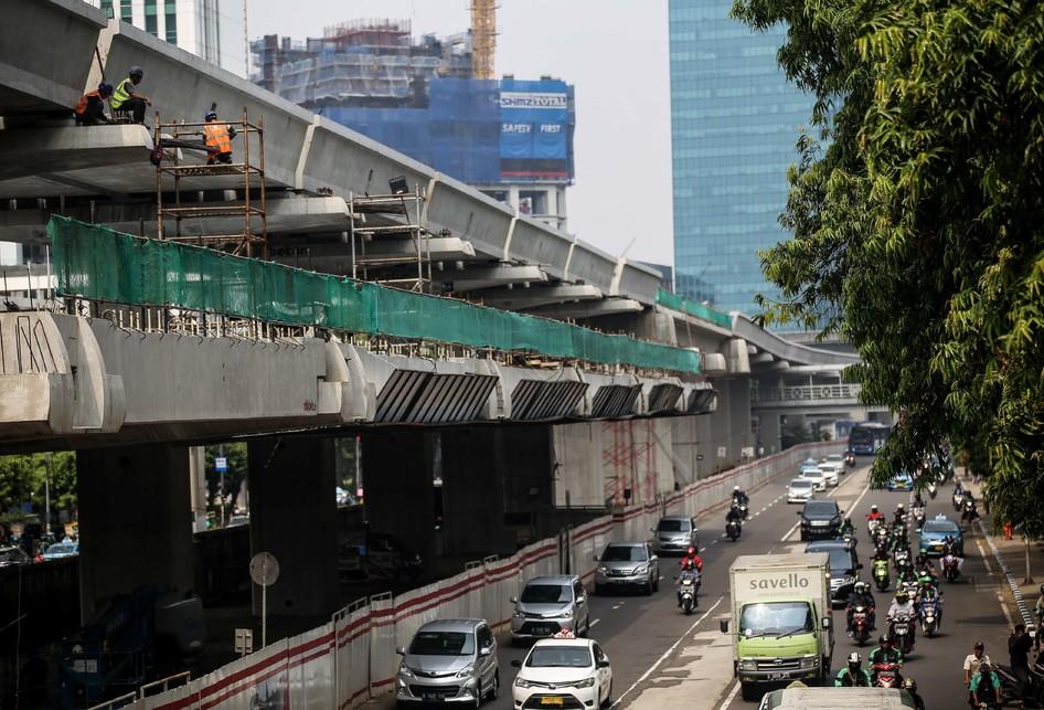 Ada Proyek LRT Jabodebek, Jalan Setiabudi Ditutup