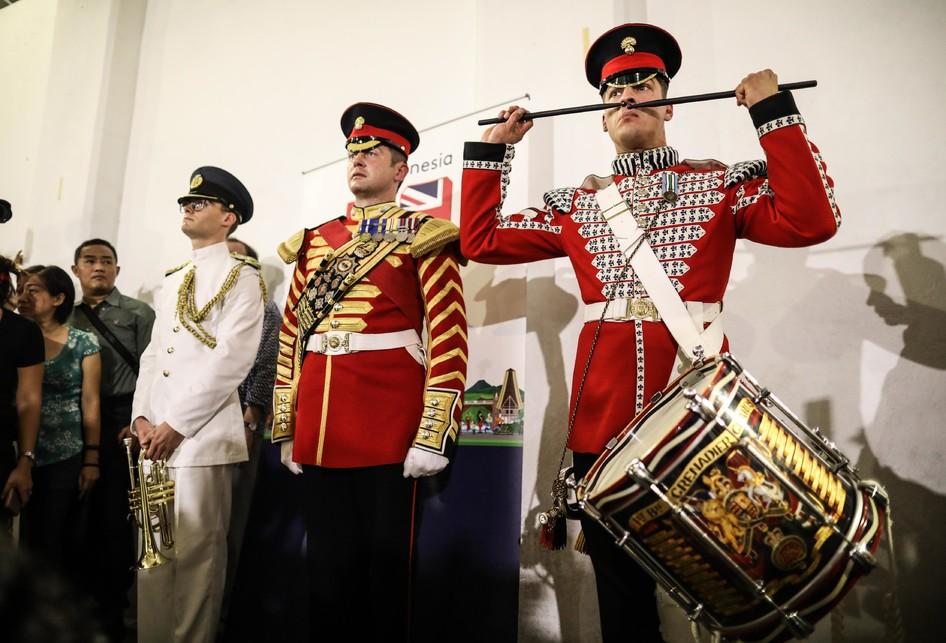 Aksi Tentara Kerajaan Inggris