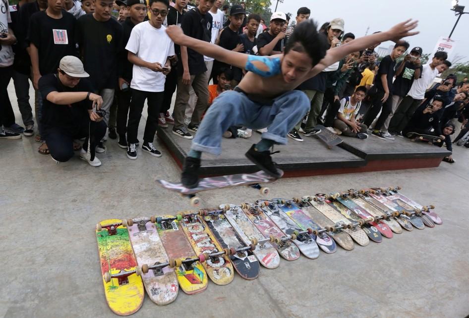Go Skateboarding Day di Tangerang