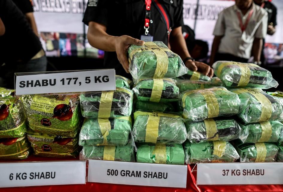 Narkoba Jaringan Malaysia-Indonesia