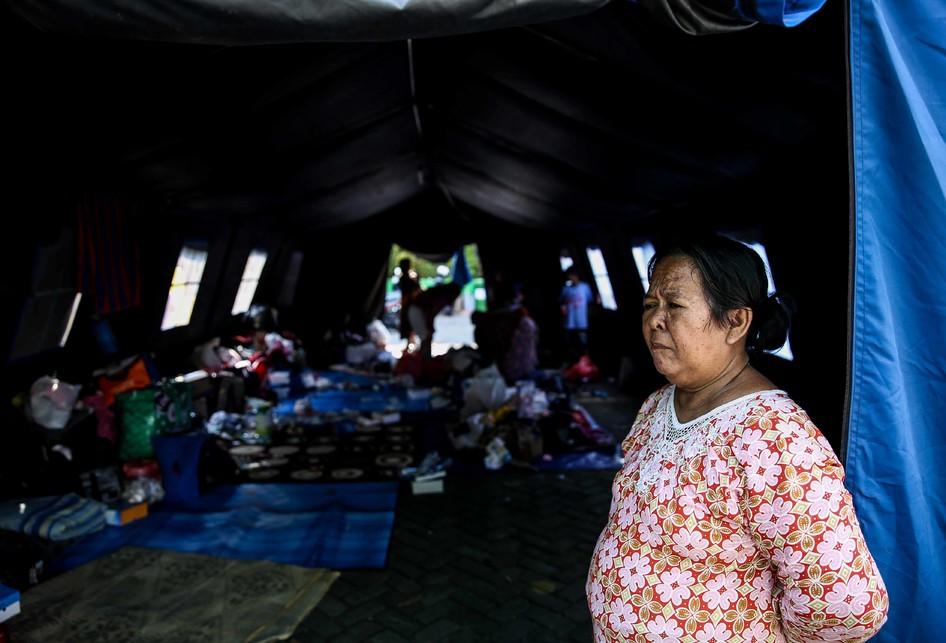 Kebakaran di Tebet Kampung Bali Matraman