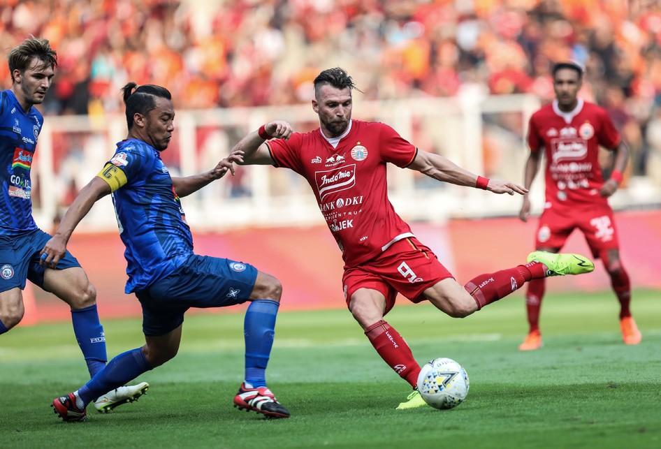 Persija Jakarta vs Arema Malang FC