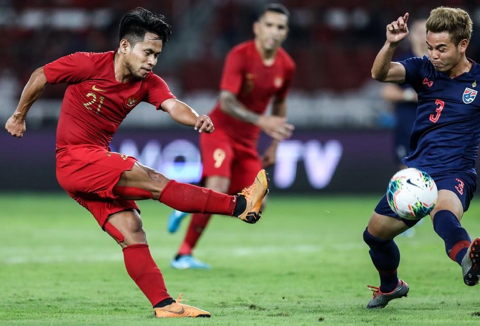 Tim nasional Indonesia menelan kekalahan dari Thailand