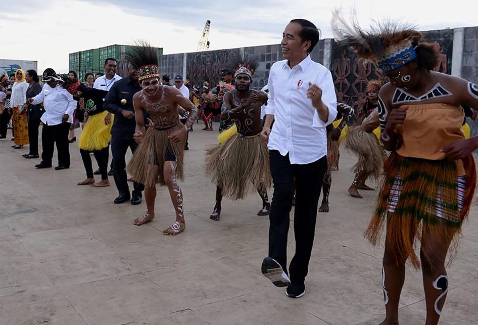 Presiden Jokowi Berkunjung ke Wamena