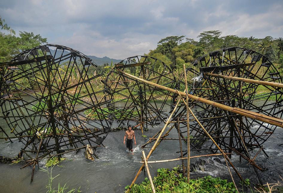 Kincir Air, Si Penyelamat Sawah di Kala Kemarau