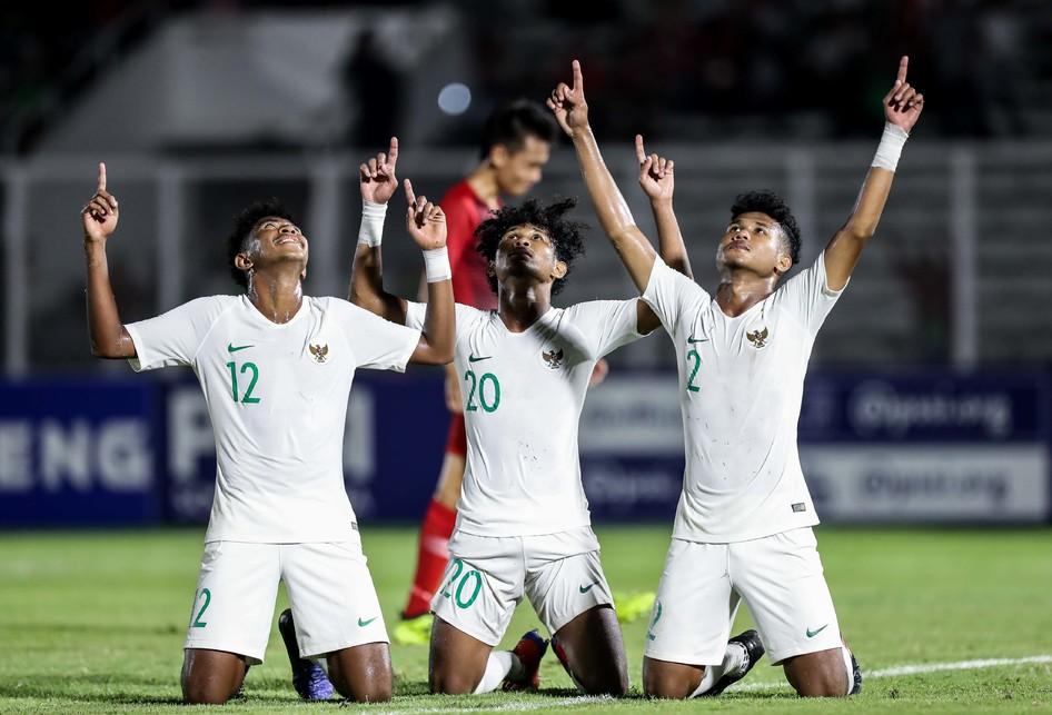 Timnas U-19 Indonesia Vs Hong Kong