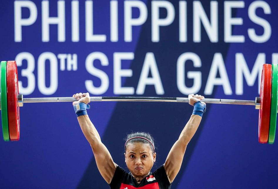 Lifter Putri Lisa Setiawati SEA Games 2019