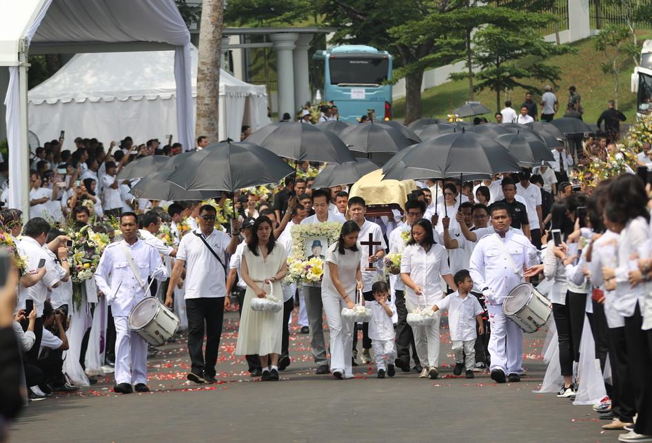 pemakaman Dr. (HC) Ir. Ciputra