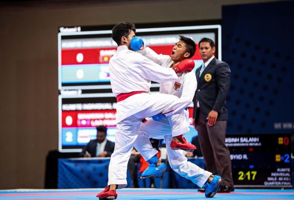 Karateka putra Indonesia, Rifky Arrosyid