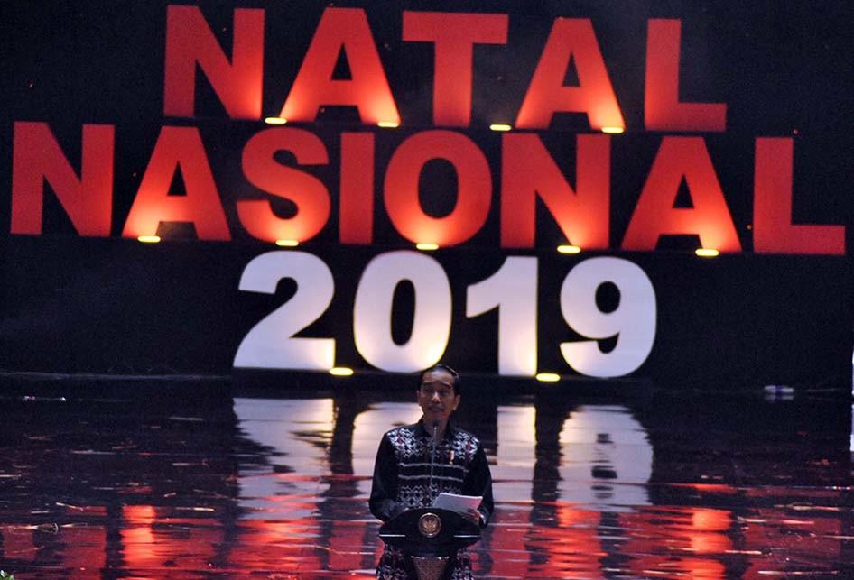 PERAYAAN NATAL NASIONAL 2019