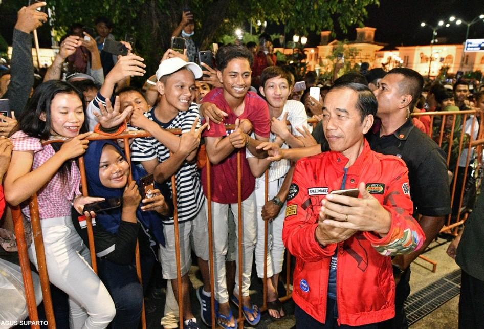 Presiden Jokowi Nanti Pergantian Tahun di DIY