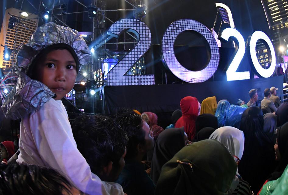 PERAYAAN TAHUN BARU 2020 BUNDARAN HI JAKARTA