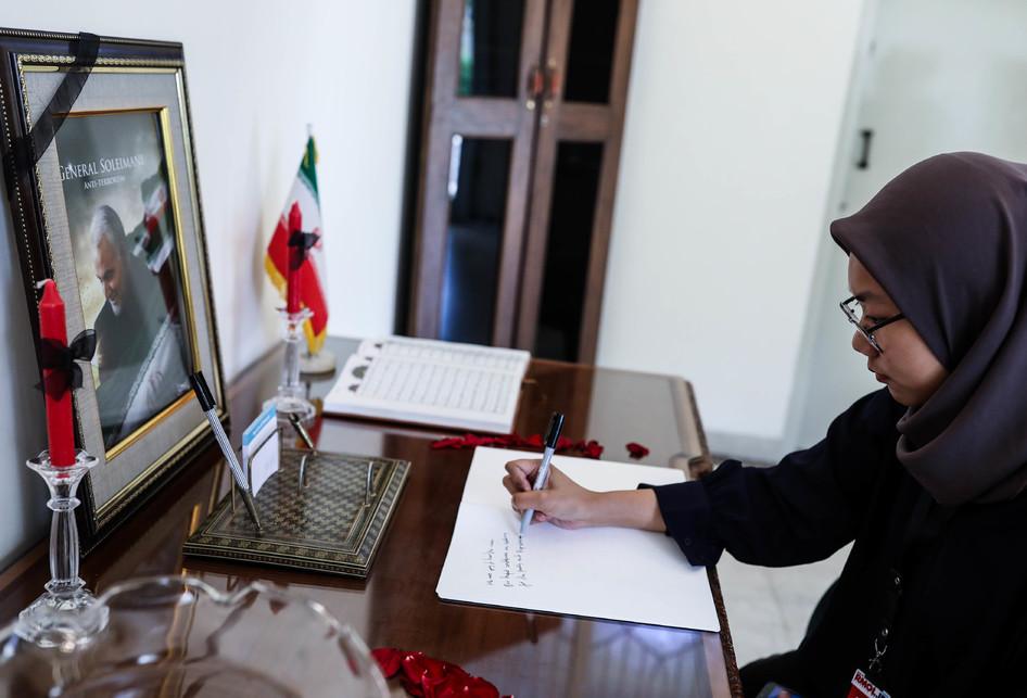 Kedubes Iran berbelasungkawa atas pembunuhan Qasem Soleimani