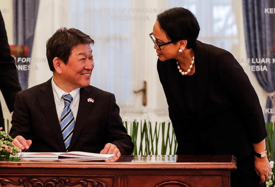 Kunjungan Kenegaraan Menteri Luar Negeri Jepang, Motegi Toshimit