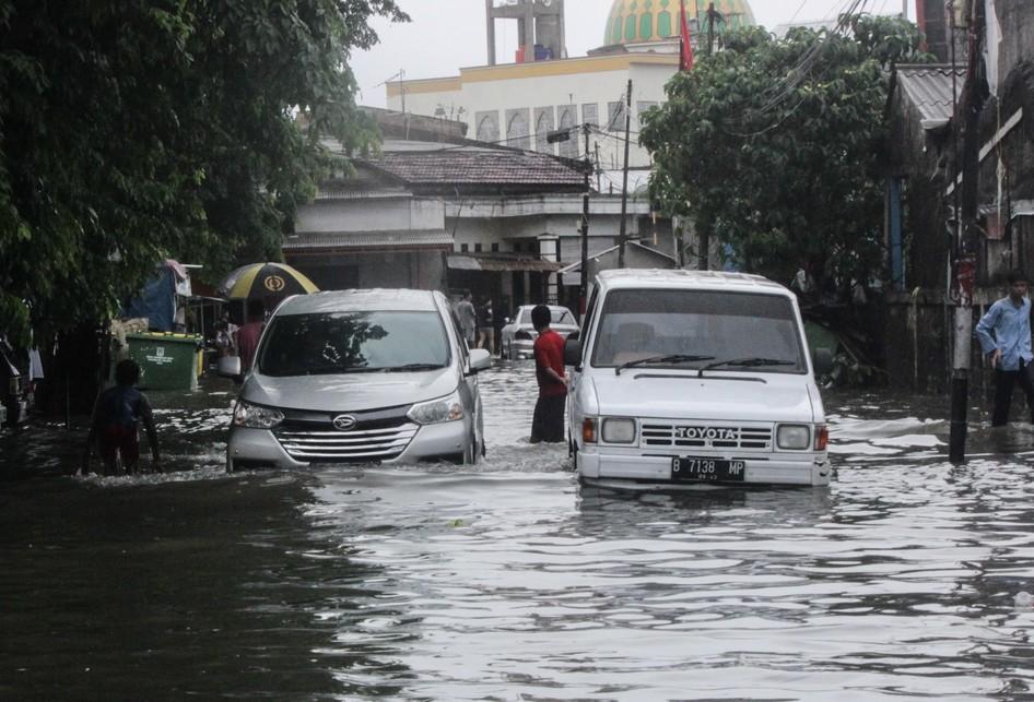 Banjir di Cempaka Baru