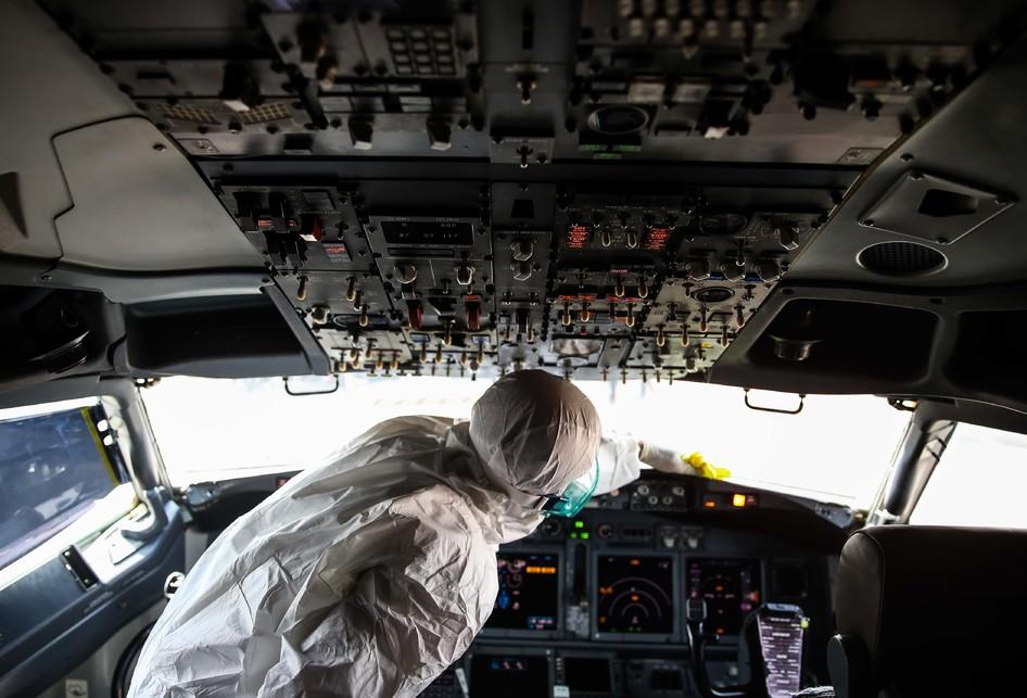 Lion Air Grup Sterilisasi Pesawat Cegah Virus Corona