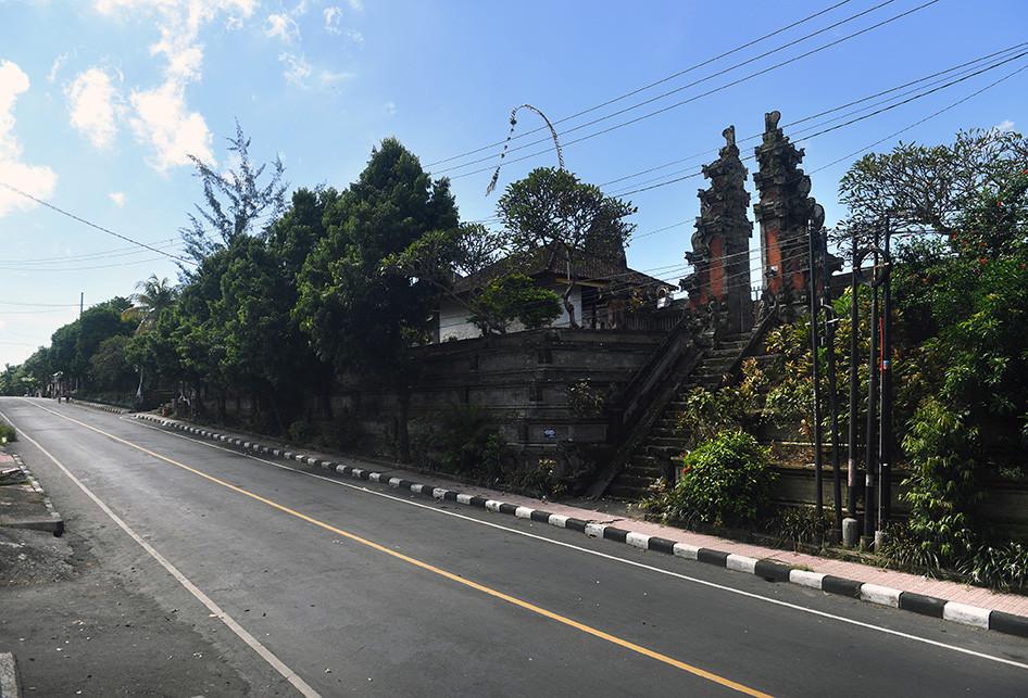 Suasana Nyepi 2020 di Bali