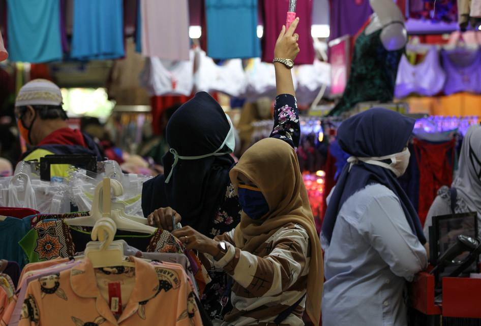 Suasana Pasar Anyar Bogor