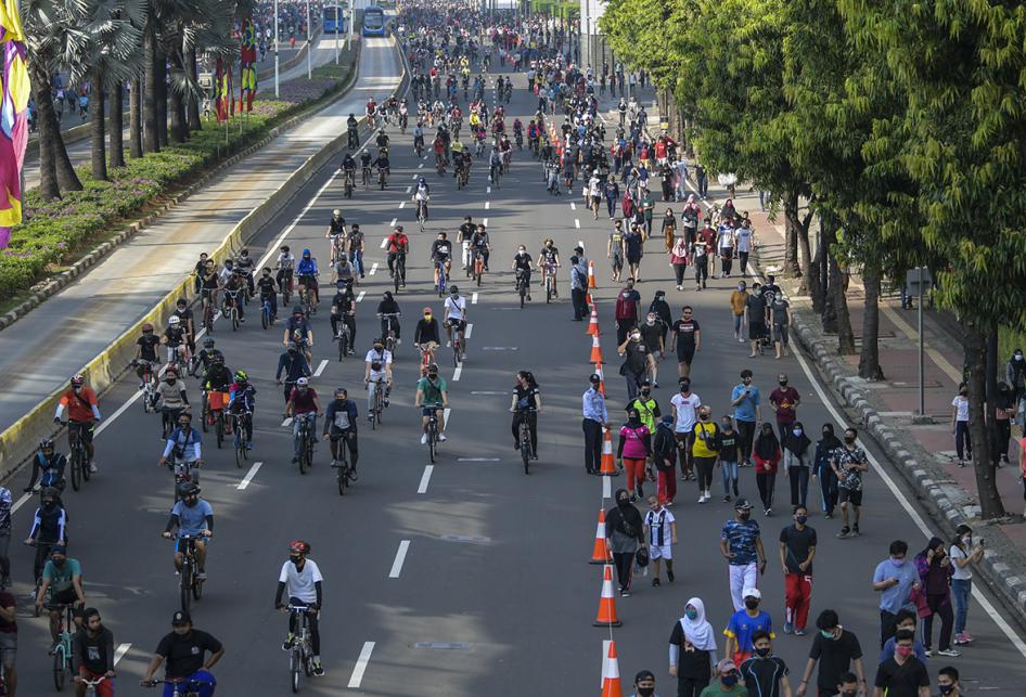 Car Free Day Jakarta Mulai Dibuka Kembali