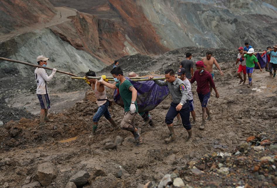 Longsor Tambang Giok di Myanmar, Ratusan Nyawa Melayang