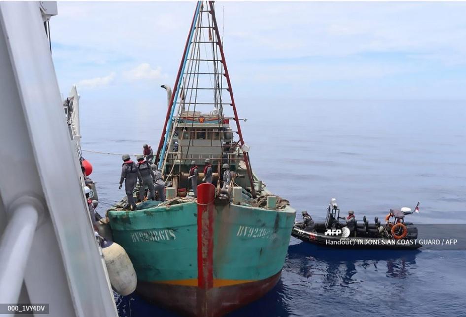 Penangkapan Kapal Ikan Vietnam di Natuna