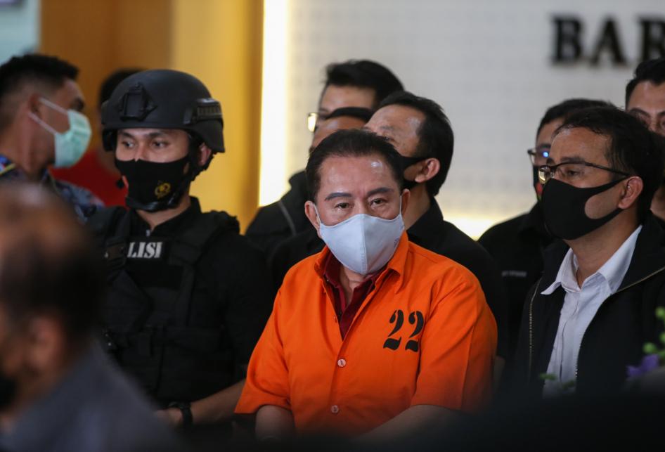 Djoko Tjandra Ditangkap Polisi