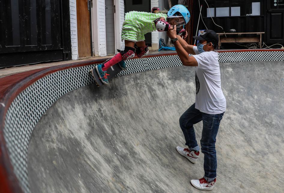Sekolah Skateboard Crooz Kembali Gelar Latihan di Masa Pandemi