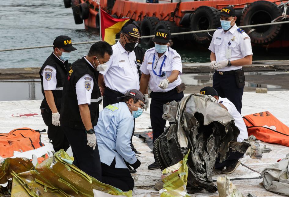 KNKT Periksa Turbin Sriwijaya Air SJ 182