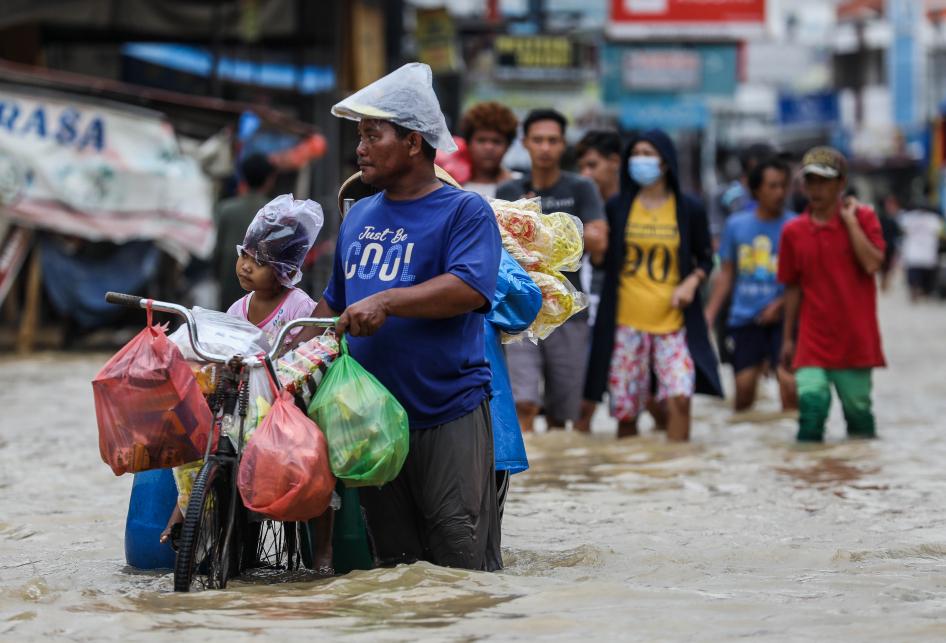 Banjir di Pamanukan Subang
