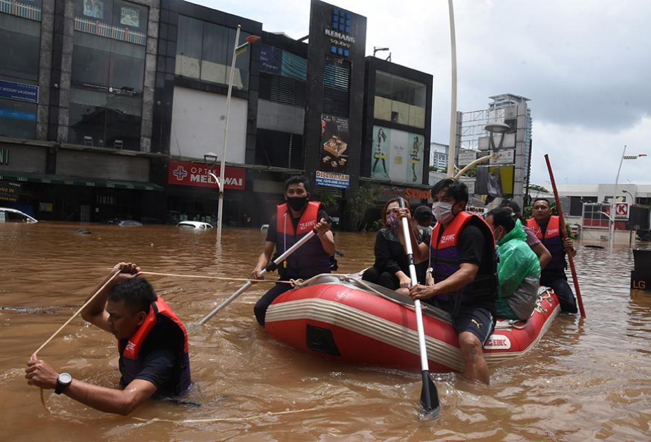 Banjir Parah Jakarta 2021