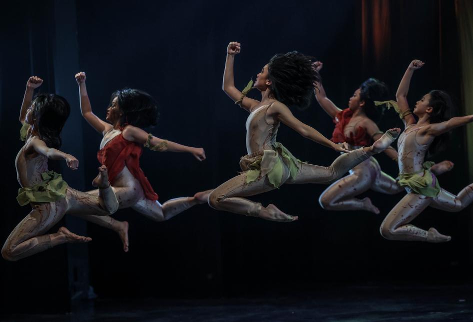 Tari Balet dari Namarina Youth Dance (NYD)