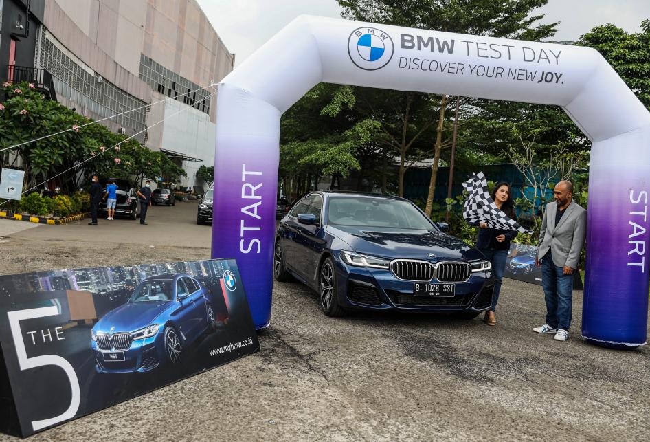 BMW The New 5 Type BMW 520i M Sport