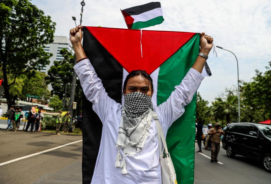 Buruh Gelar Aksi Solidaritas untuk Palestina