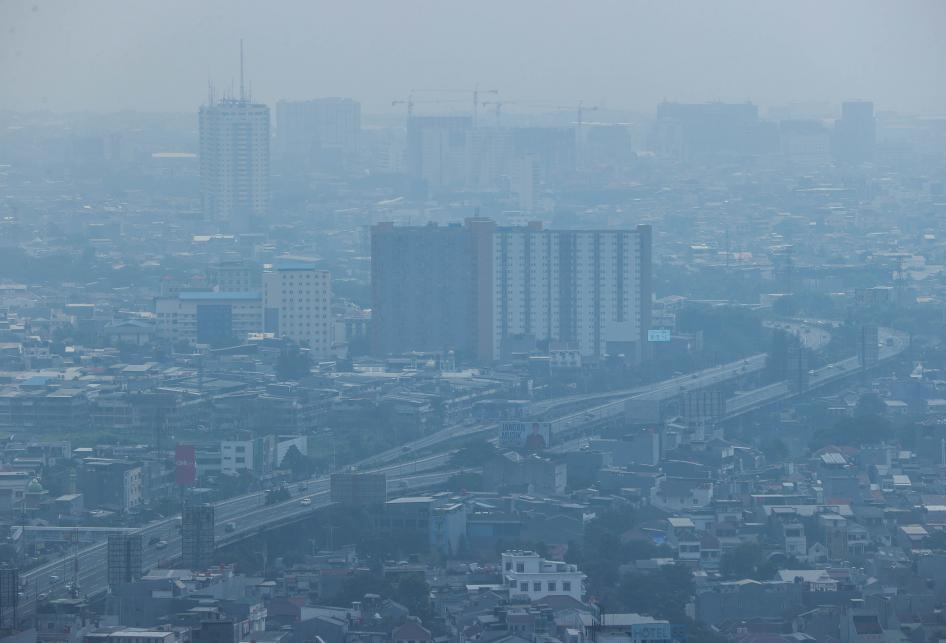 Polusi Udara Ibu Kota Jakarta