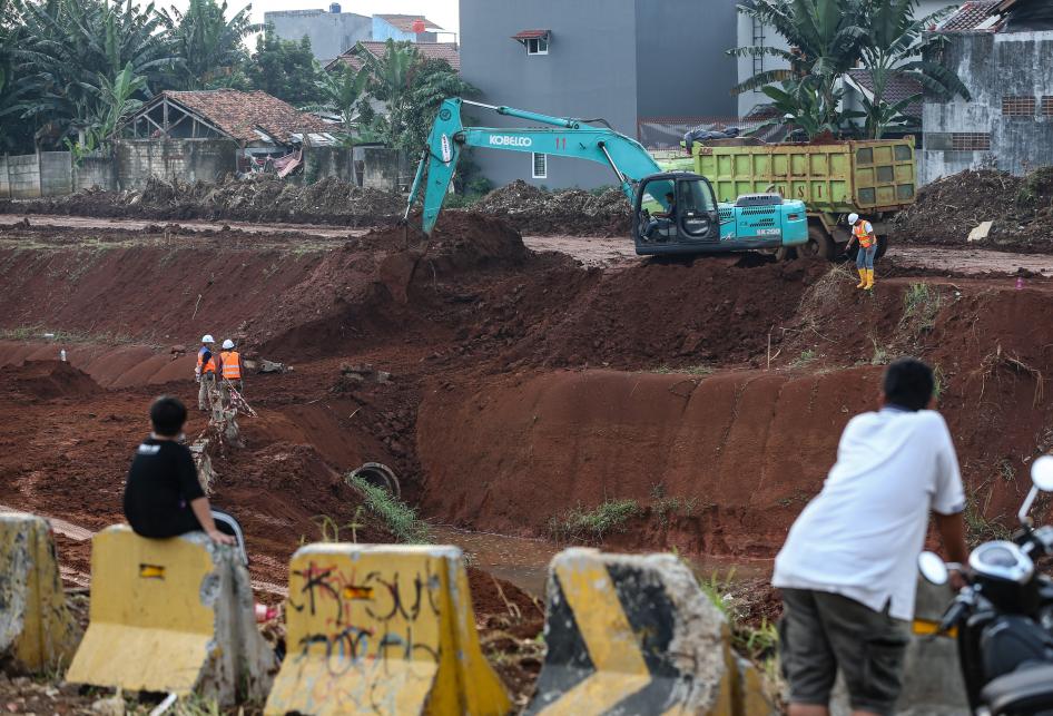 Pembangunan Jalan Tol Cijago Kukusan - Cinere
