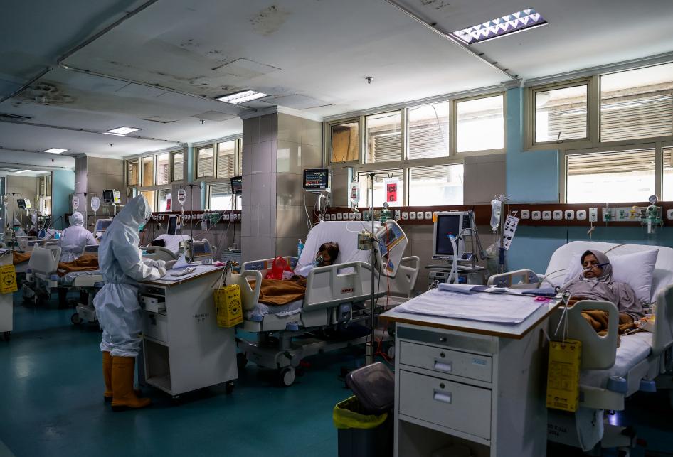 RSUD Koja Tangani Pasien Covid-19 di Ruangan ICU