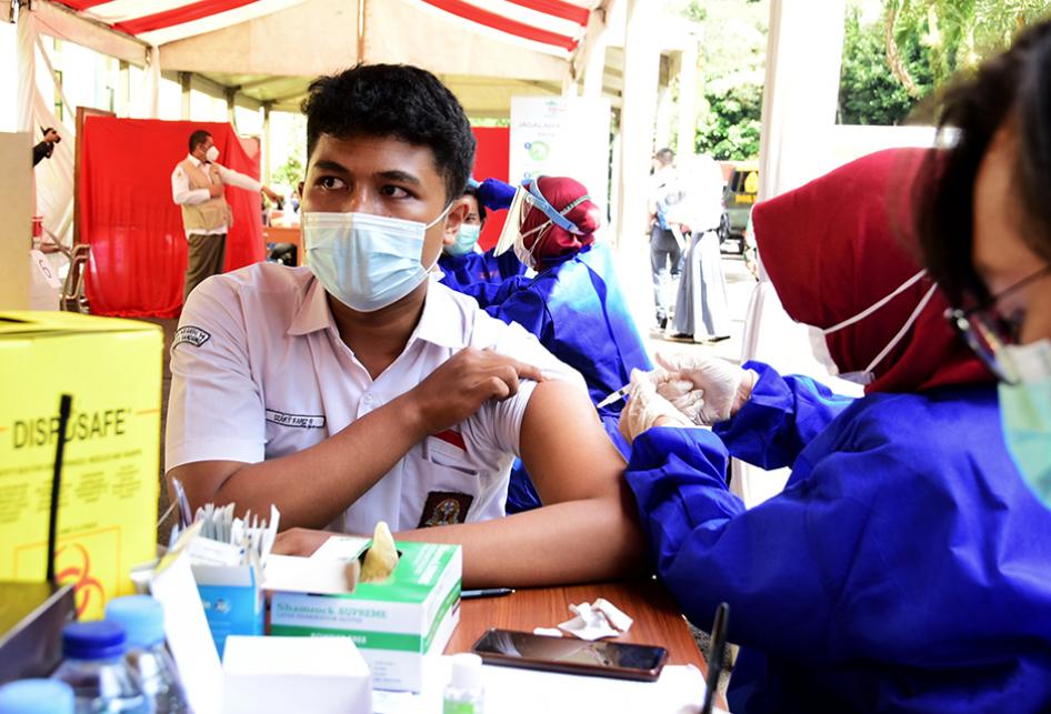 Jabar Mulai Suntik Vaksin bagi Pelajar