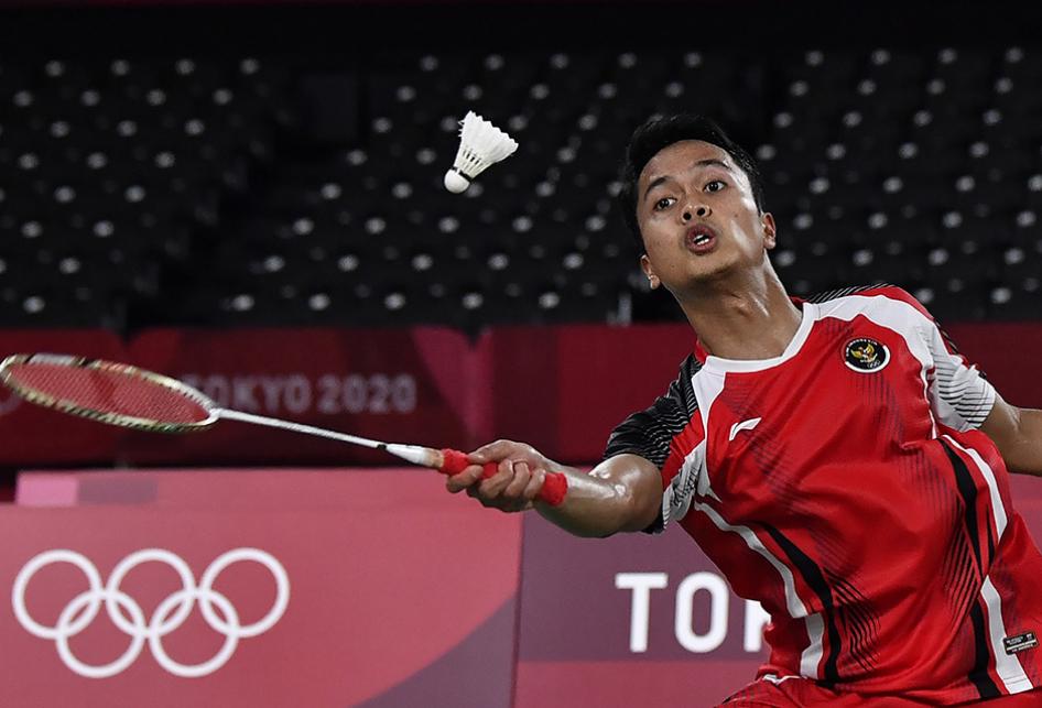 Anthony Sinisuka Ginting Lolos ke Semifinal Olimpiade Tokyo