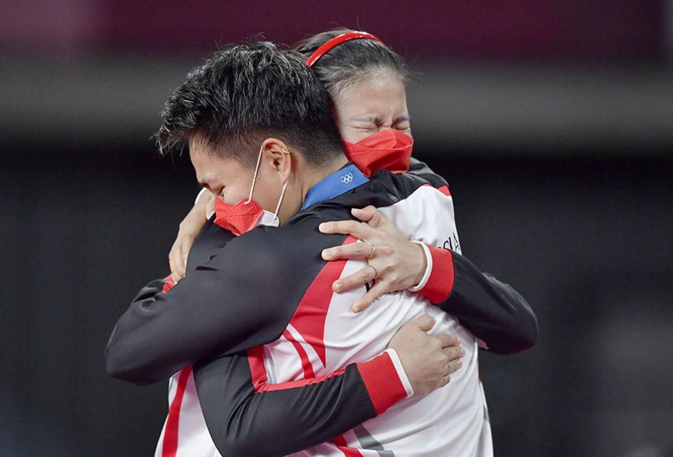 Greysia/Apriyani Raih Medali Emas Olimpiade Tokyo