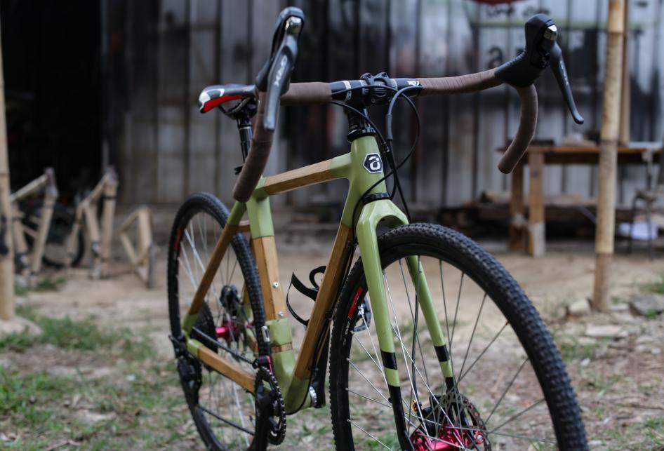 Produksi Sepeda Bambu