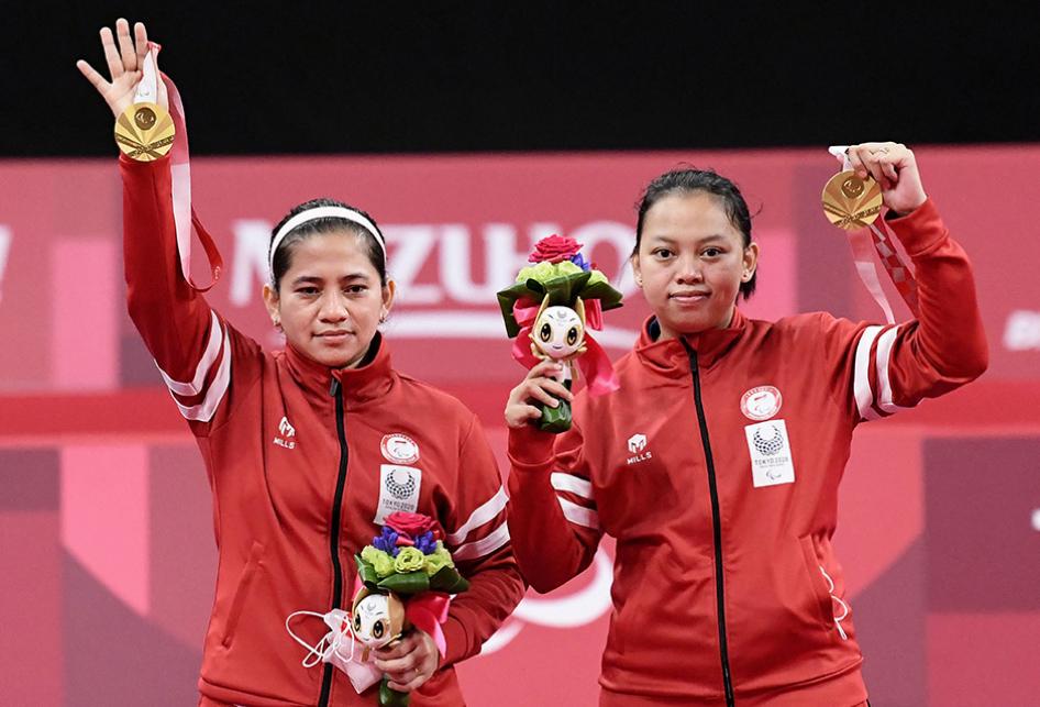 Leani/Khalimatus Raih Medali Emas di Paralimpiade Tokyo 2021