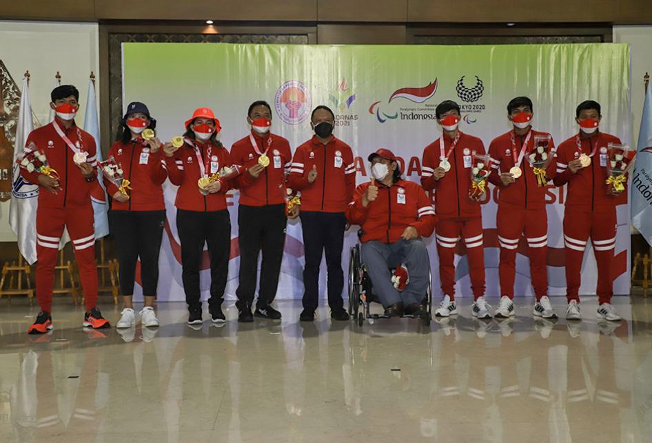 Kloter Terakhir Kontingen Paralimpiade Indonesia Tiba di Tanah A
